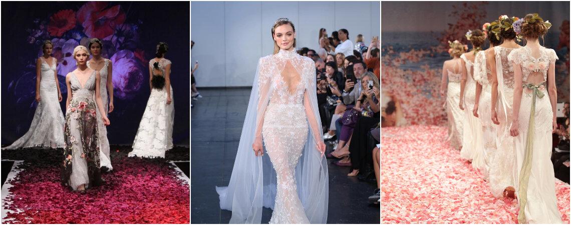 Los mejores vestidos de novia de la Semana de la moda nupcial de Nueva York