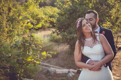 Confeti y palomitas: la boda de Mireia y Guillem