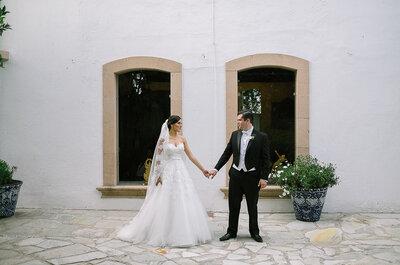 Un amor envuelto en perfección y claridad: La boda de Emma y Memo ¡te encantará!