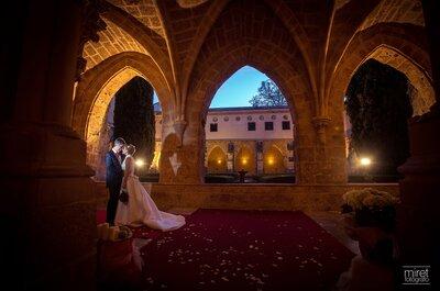 Una boda idílica en el Monasterio de Piedra: descubre el mejor entorno para tu gran día