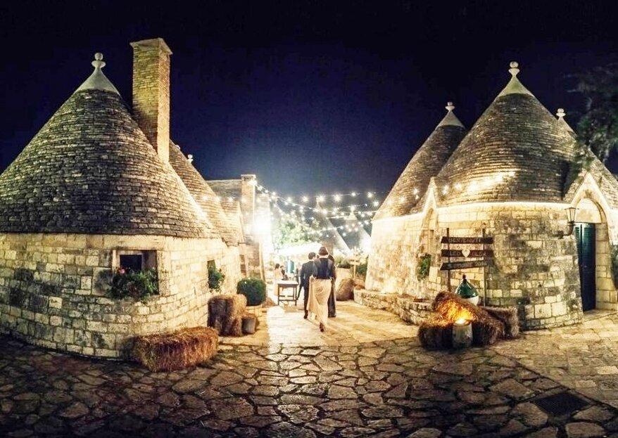 Tenuta Monacelle: l'espressione più alta di un matrimonio in Puglia
