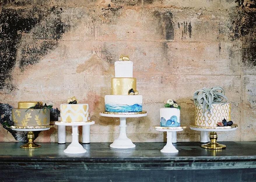 5 passos para escolher o bolo de casamento e 14 estilos para se inspirar!