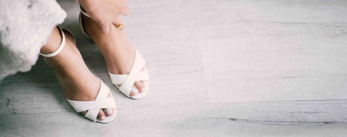 Como escolher o sapato de noiva para o meu casamento em 5 passos