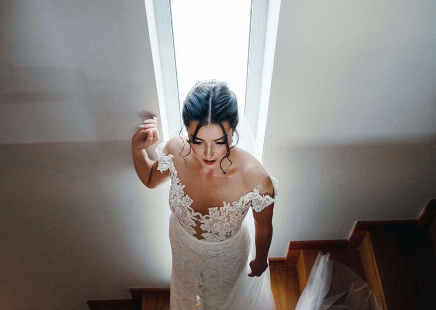 Comprar, alugar ou fazer à medida o vestido de noiva: qual a melhor solução para si?