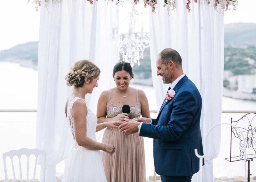 Les meilleurs officiants de cérémonies laïques pour votre mariage en France