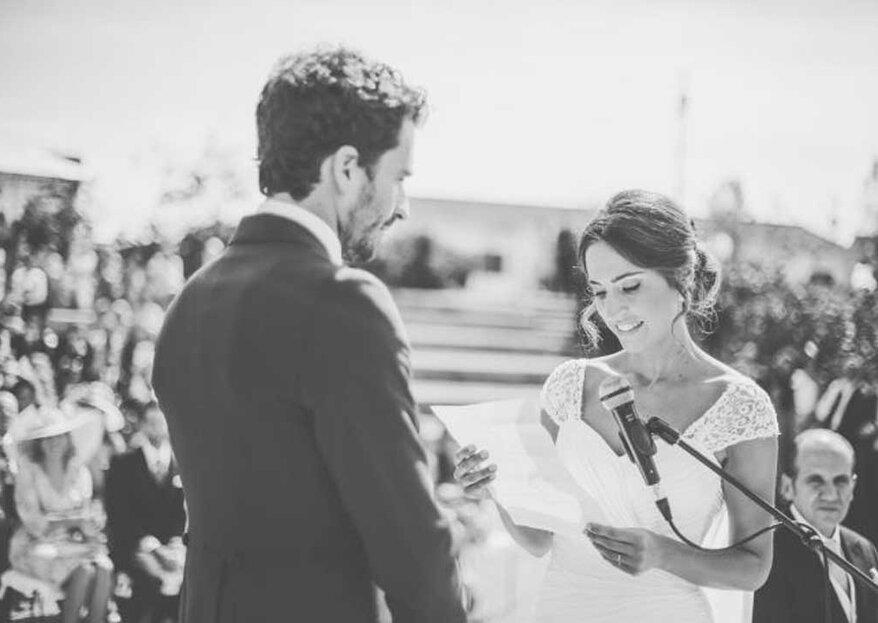 Cómo escribir el discurso de boda perfecto: los 5 tips que te ayudarán