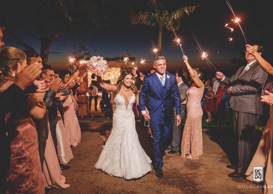 """Você diz """"festa de casamento"""", nós dizemos """"bar e muita música"""""""