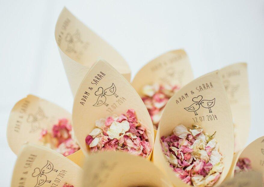 25 idee originali per il vostro matrimonio: dalla decorazione ai dettagli per gli ospiti
