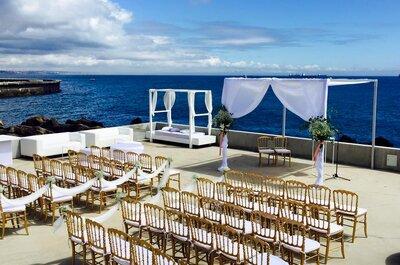 Fique a conhecer os 12 Espaços para Casamentos em Lisboa com vista sobre o mar!