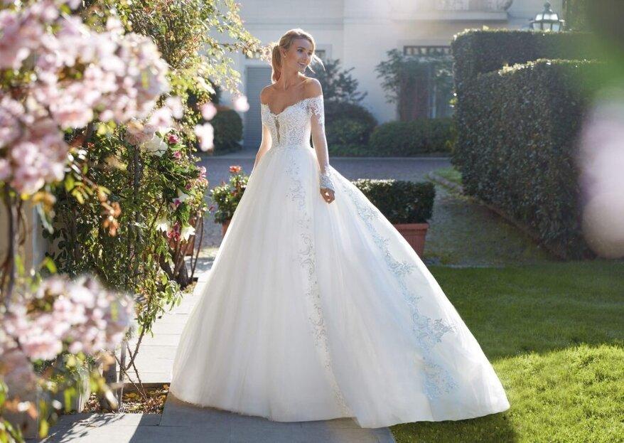 Gentile Wedding, l'atelier dei sogni in cui perdersi alla ricerca del vostro abito da sposa...