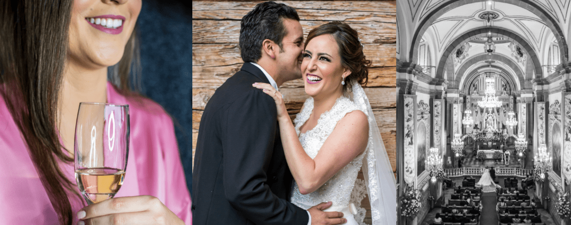 Con el ambiente cargado de emociones: la boda de Isabel y Carlos