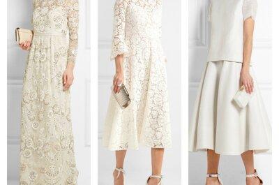 15 vestidos de novia premamá que siempre sientan bien