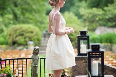 Bodas y moda en un combo perfecto: Lo mejor para un estilismo de novia en tu ceremonia civil