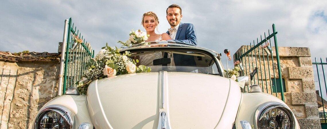 Mylène et Teddy : un joli mariage dans l'Yonne