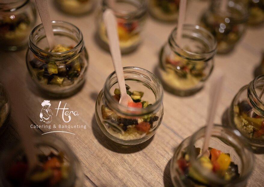 Hera Catering & Banqueting risveglierà i 5 sensi dei vostri invitati, per un banchetto da sogno!