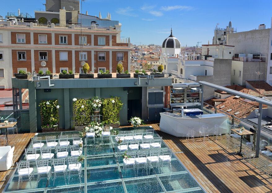 Hotel Santo Domingo: 5 ventajas de celebrar tu boda en un hotel