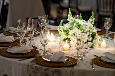 Inspiração: decoração de casamento branca