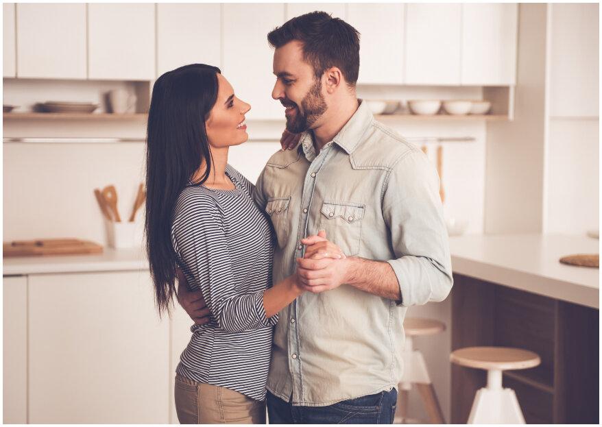 25 realidades que las parejas descubren cuando se van a vivir juntos