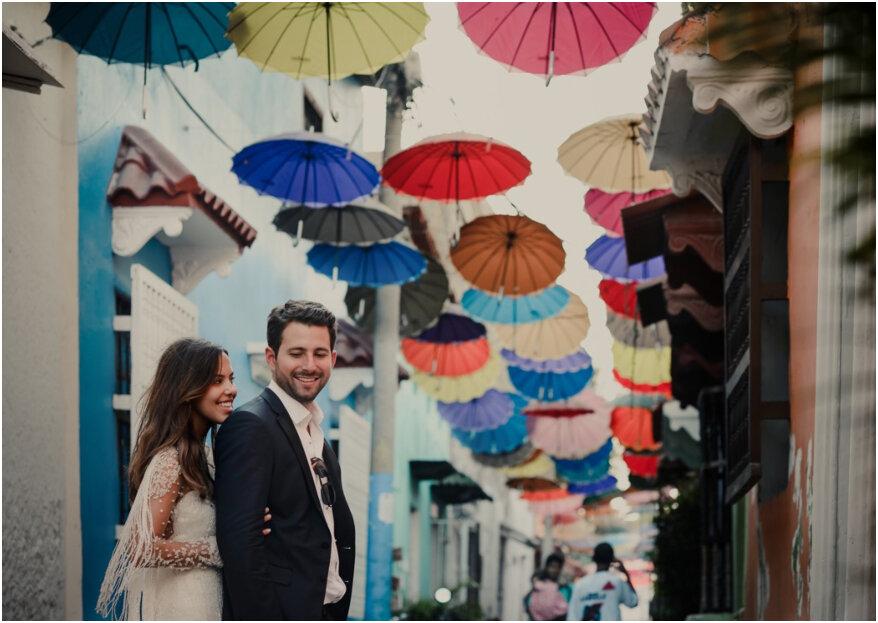 Daniella y Miguel: una boda con 'vibras caribeñas' que sacudió a La Heroica