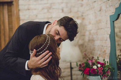 Cecilia & Fabian: mini wedding rústico cheio de charme em São Paulo