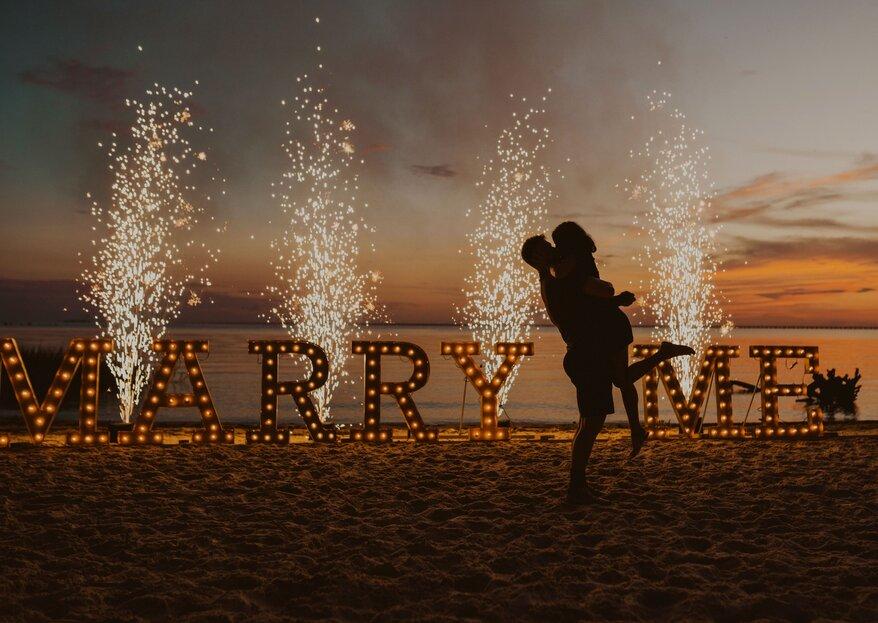 Der Heiratsantrag: die perfekte Planung, wichtige Tipps & 16 kreative Ideen