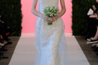 Die Frühlings-Brautmoden-Kollektion 2015 von Óscar de la Renta Spring – präsentiert auf der New York Bridal Week