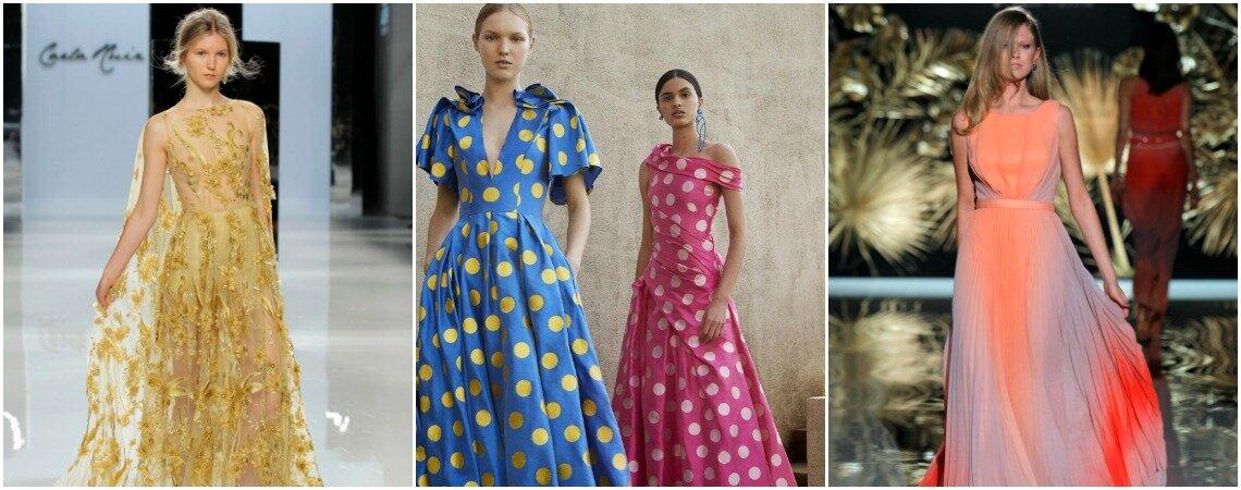 Ya están aquí las tendencias en vestidos de fiesta 2018 y es momento de que las conozcas