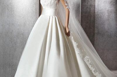 Los 80 mejores vestidos de novia St. Patrick 2017. ¡Te dejarán boquiabierta!