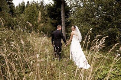 Brautpaar-Shooting im Märchenwald: Ruth & Patrick's himmlische Hochzeitsreportage!