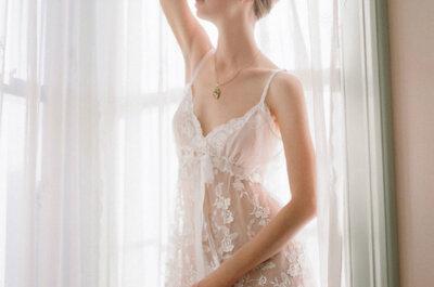 Lingerie de noiva: Leighton Collection, by Claire Pettibone