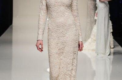 Le look Rosa Clará inspire les mariées