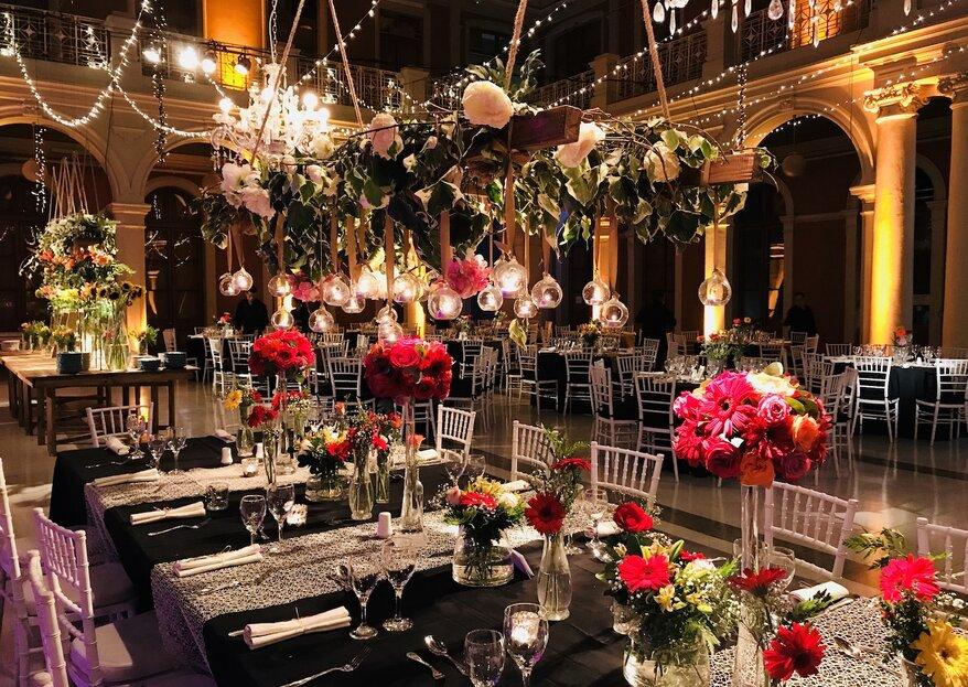 Disfruta de un banquete de ensueño gracias a la banquetera Carmen Paz Reyes