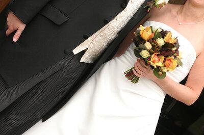 Vestido de noiva liso: opção clean