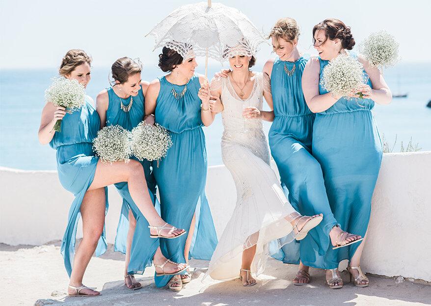 Como pedirem às vossas melhores amigas para serem vossas damas de honor? 5 ideias que as deixarão rendidas!