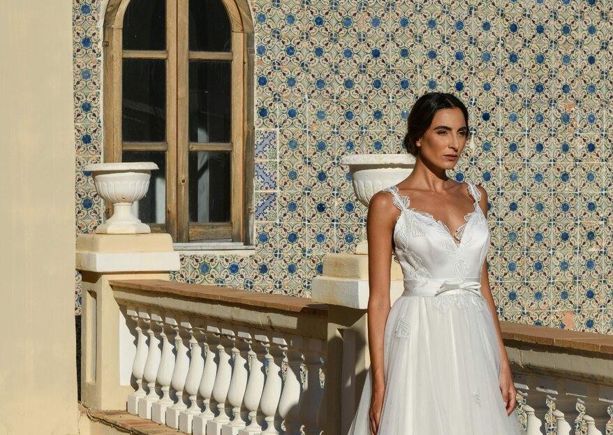 Benedetta Laboratorio Moda realizza i sogni delle spose disegnando insieme a loro l'abito perfetto per le nozze!