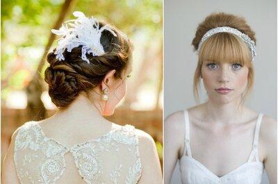 30 penteados lindos para noivas de cabelos compridos