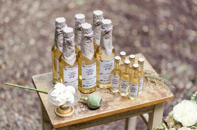 Sirup als zuckersüßes Geschenk für die Hochzeitsgäste – Diese Ideen begeistern!