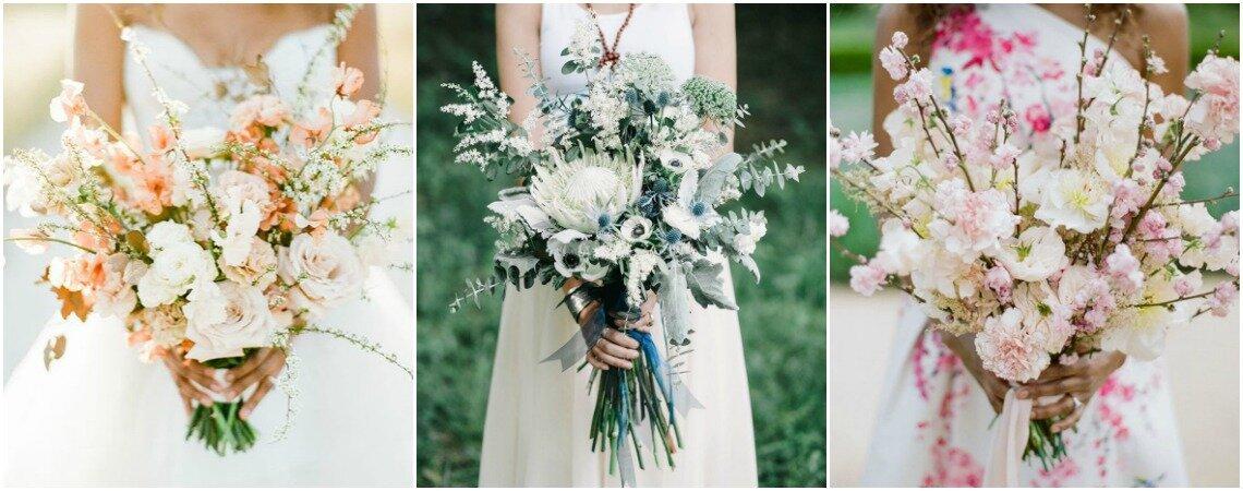 30 bruidsboeketten met elegante witte bloemen: de perfecte toevoeging aan jouw look