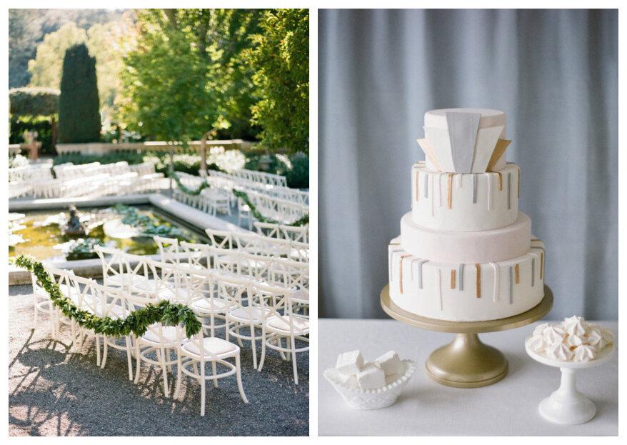 Een minimalistische bruiloft: met deze 5 elementen heb je de dag van je dromen!