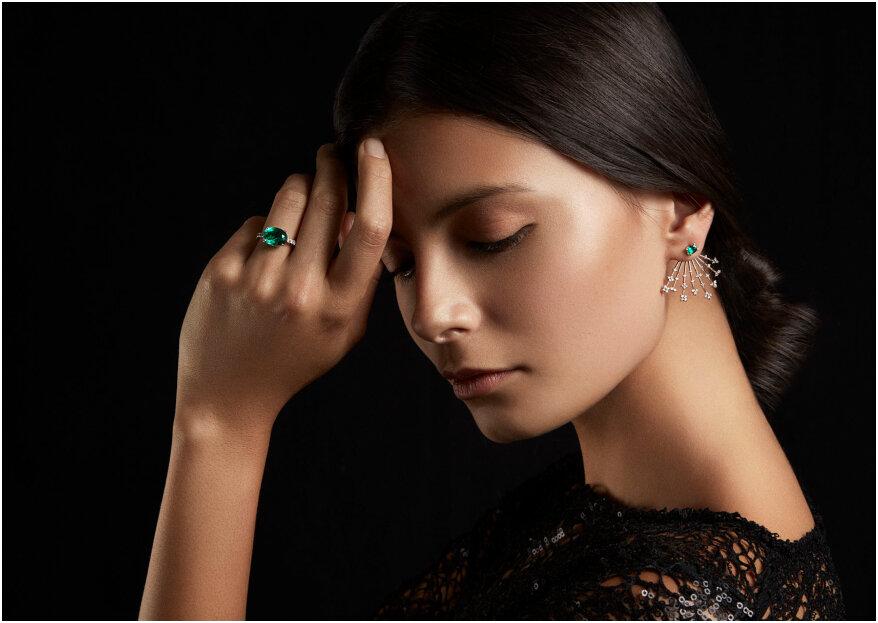 ¿Las joyas de tu matrimonio con esmeraldas? Los expertos nos dicen por qué