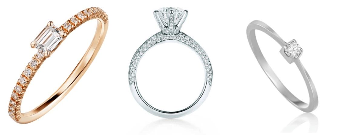 Como escolher a pedra preciosa do anel de noivado em 5 passos