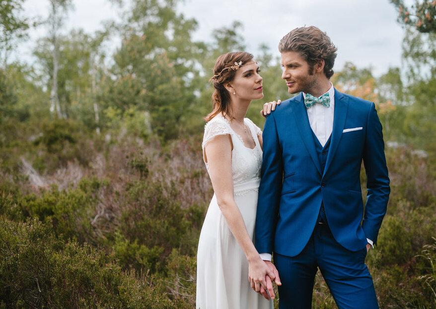 Costumes de mariés Samson : du sur-mesure à l'état pur