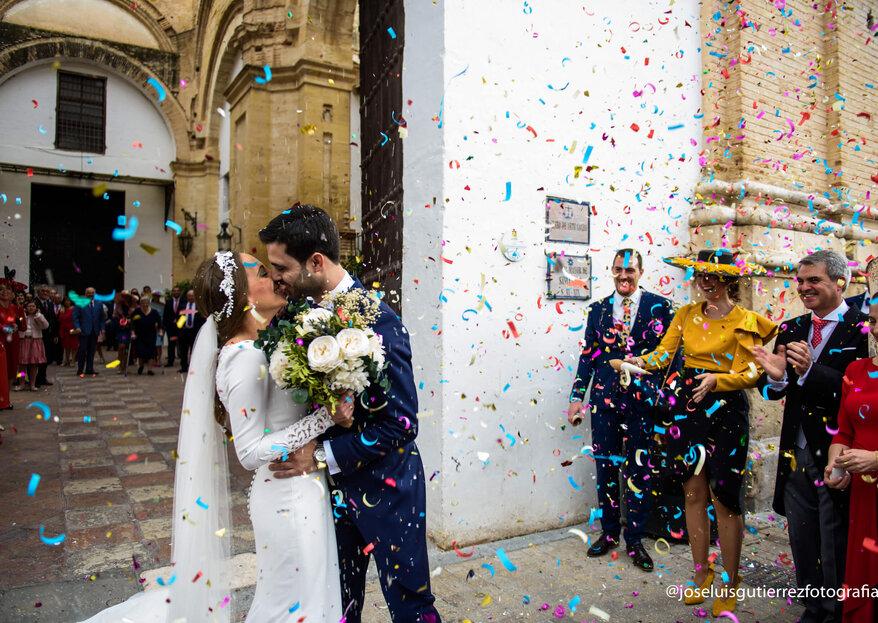 Destinados a encontrarse: la boda deCarmeny José Antonio