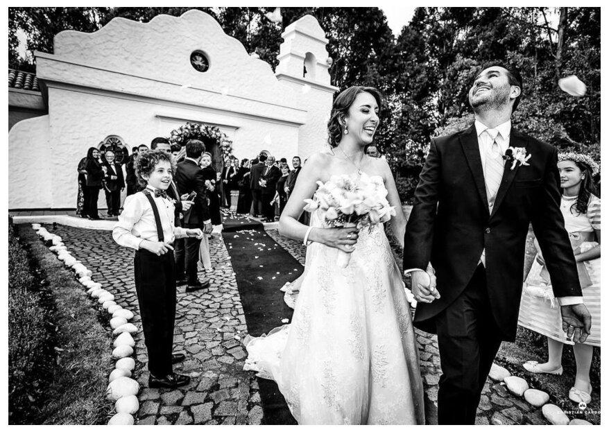 La boda de Caro y Eugenio: una gran celebración para un amor de los grandes