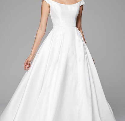 neu authentisch Genieße den kostenlosen Versand Großhändler Minimalistische Brautkleider – Wer es lieber schlicht mag ...