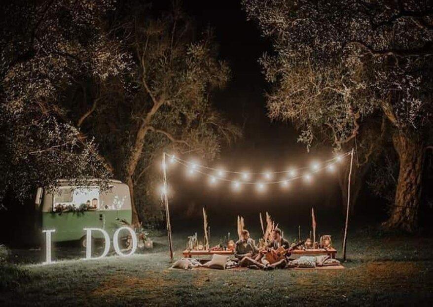Kokopelli Bar Catering, servizio itinerante che porta il divertimento ovunque desideriate per le vostre nozze!