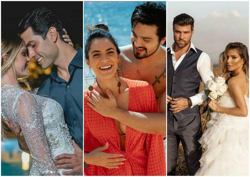 Alerta 2020: os casamentos de famosos que queremos ver até dezembro