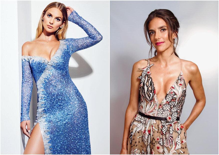Los escotes en V más impactantes de la Gala del Festival de Viña del Mar 2019