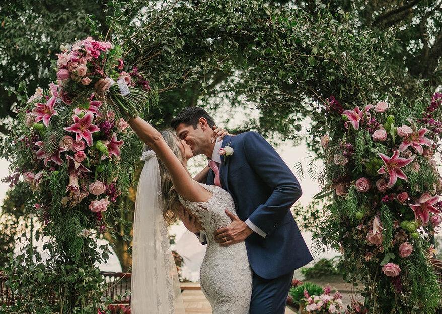 Casamento Renata e Gabriel: festa animada sob as bençãos do Cristo Redentor