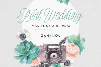 Inspirada en La Bella y La Bestia: la boda de Sara y Javi